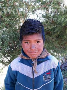 Alfredo, aged 10, from Bolivia, is hoping for a World Vision sponsor