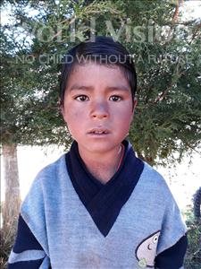 Choose a child to sponsor, like this little boy from Mosoj P'unchay, Nestor age 7