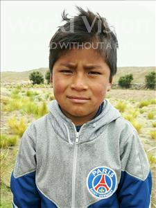 Choose a child to sponsor, like this little boy from Khantati, Ever age 8