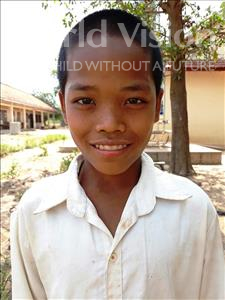 Raphorn, aged 13, from Cambodia, is hoping for a World Vision sponsor