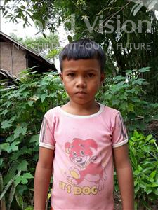 Choose a child to sponsor, like this little boy from Soutr Nikom, Vuth age 7