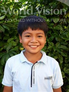 Choose a child to sponsor, like this little boy from Soutr Nikom, Rathana age 10