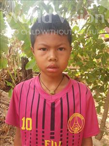 Rathana, aged 8, from Cambodia, is hoping for a World Vision sponsor