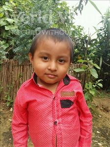 Choose a child to sponsor, like this little boy from Maya, Jorge Rumilio age 6