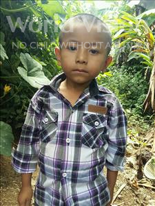 Choose a child to sponsor, like this little boy from Maya, Keimer Daniel age 5