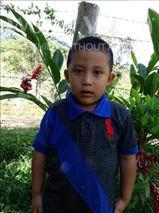 Choose a child to sponsor, like this little boy from Maya, Carlos Francisco age 4