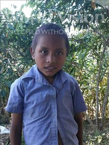 Choose a child to sponsor, like this little boy from Maya, Melser Leonardo age 8
