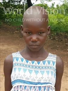 Choose a child to sponsor, like this little girl from Kazuzo, Domingo Avelino Lour age 10