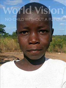 Choose a child to sponsor, like this little boy from Kazuzo, Joao Aliasse age 9