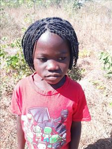 Choose a child to sponsor, like this little girl from Kazuzo, Clacia Eusebio age 9