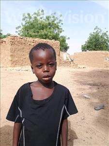 Choose a child to sponsor, like this little boy from Sirba, Ridouane age 7