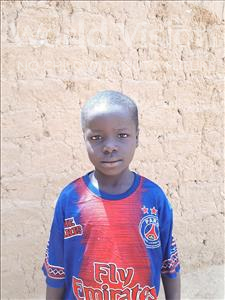Safiou, aged 6, from Niger, is hoping for a World Vision sponsor