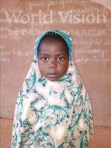 Choose a child to sponsor, like this little girl from Sirba, Manssoura age 6