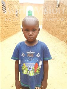 Choose a child to sponsor, like this little boy from Sirba, Tahirou age 6
