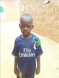 Choose a child to sponsor, like this little boy from Sirba, Salou age 7