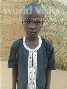 Sein Djibo, aged 7, from Niger, is hoping for a World Vision sponsor