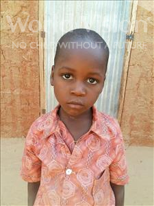 Choose a child to sponsor, like this little boy from Sirba, Seydou age 6