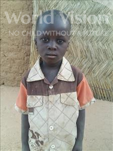 Choose a child to sponsor, like this little boy from Sirba, Hamadou age 5