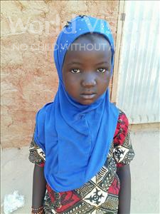Choose a child to sponsor, like this little girl from Sirba, Hamadou age 5