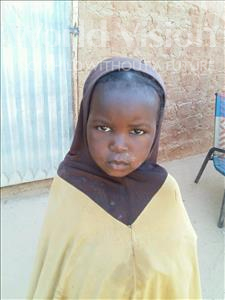 Choose a child to sponsor, like this little girl from Sirba, Daouda age 5