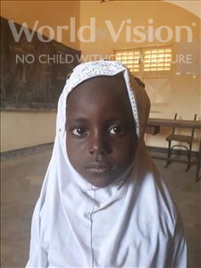 Choose a child to sponsor, like this little girl from Sirba, Rachida age 6