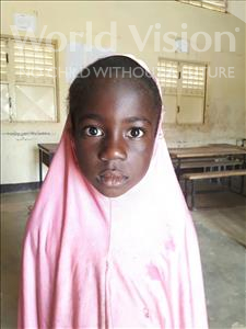 Choose a child to sponsor, like this little girl from Sirba, Rahina age 6
