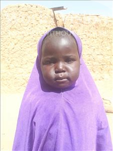 Fadila, aged 1, from Niger, is hoping for a World Vision sponsor