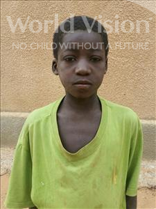 Choose a child to sponsor, like this little boy from Komabangou, Abdoulhaziz age 13
