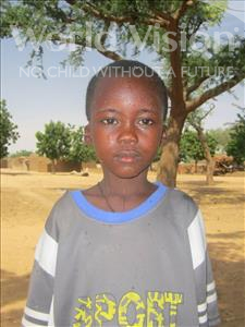 Choose a child to sponsor, like this little boy from Komabangou, Abdoulaye age 12