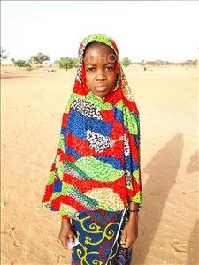 Choose a child to sponsor, like this little girl from Komabangou, Aichatou age 12