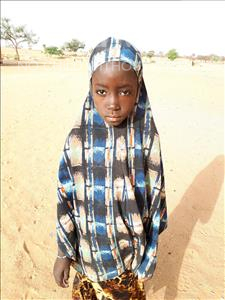 Choose a child to sponsor, like this little girl from Komabangou, Aissatou age 10