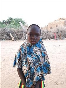 Choose a child to sponsor, like this little girl from Komabangou, B Alkissa age 12