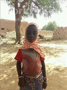 Choose a child to sponsor, like this little girl from Komabangou, Zarkaleini age 7