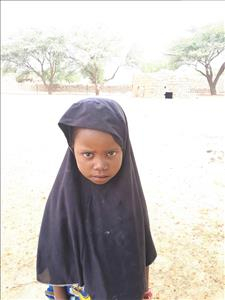 Choose a child to sponsor, like this little girl from Komabangou, Samaou age 7