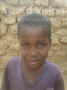 Choose a child to sponsor, like this little boy from Komabangou, Sadane age 6