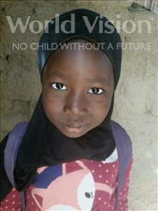 Choose a child to sponsor, like this little girl from Komabangou, Chafatou age 7