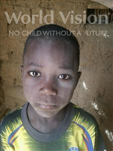 Abdoul Wahidou, aged 7, from Niger, is hoping for a World Vision sponsor