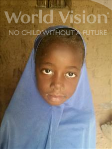 Choose a child to sponsor, like this little girl from Komabangou, Nadiya age 7