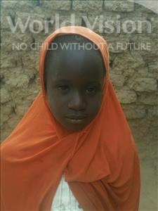 Adiza, aged 6, from Niger, is hoping for a World Vision sponsor
