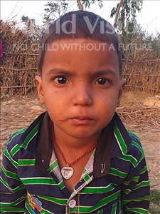 Choose a child to sponsor, like this little boy from Sarlahi, Anil Kumar age 2