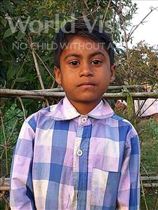 Choose a child to sponsor, like this little boy from Sarlahi, Arman age 6