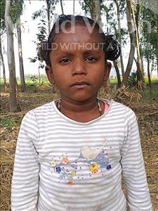 Choose a child to sponsor, like this little girl from Sarlahi, Muskan Kumari age 6