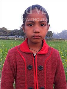 Choose a child to sponsor, like this little girl from Sarlahi, Riphat age 9