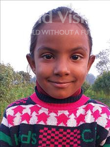 Sabnam, aged 3, from Nepal, is hoping for a World Vision sponsor