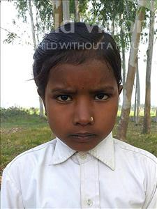 Choose a child to sponsor, like this little girl from Sarlahi, Preeti Kumari age 7
