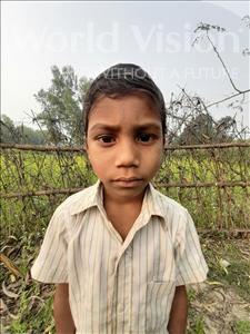 Choose a child to sponsor, like this little boy from Sarlahi, Jivan Kumar age 7