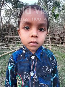 Choose a child to sponsor, like this little boy from Sarlahi, Husen Raja age 4