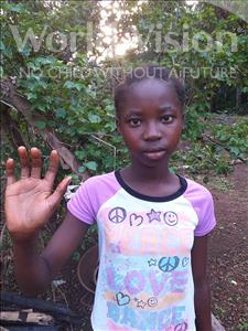 Choose a child to sponsor, like this little girl from Tegloma, Regina age 12