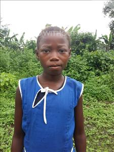 Choose a child to sponsor, like this little girl from Tegloma, Abibatu age 12