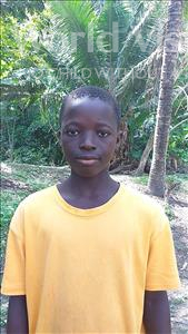 Choose a child to sponsor, like this little boy from Tegloma, Abdulai age 11